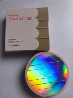 Etude house any cushion cream filter petal