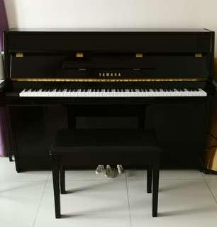 Preloved YAMAHA Upright Piano JU109