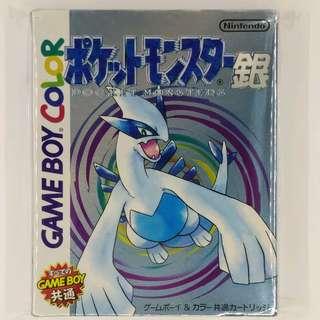 GBC Pokemon Silver 銀版