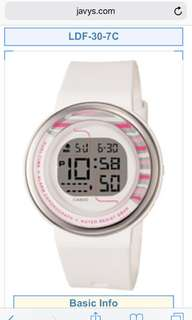 Jam tangan casio sports woman original 100%