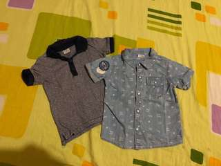 F&F soft maong polo shirt