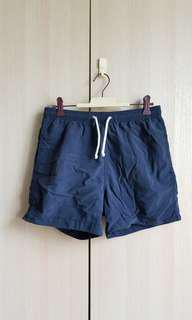 H&M men swim shorts Navy 深藍男裝泳褲