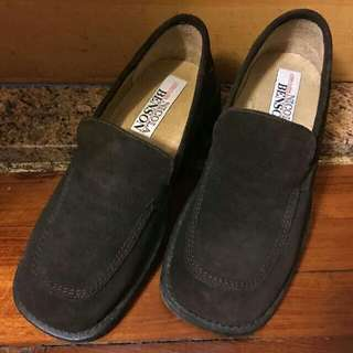 Nicola Benson Suede Leather Loafers