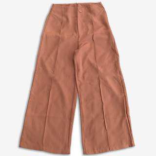 🚚 Sweesa 車線造型雪紡長褲