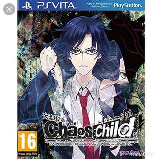 PS Vita Chaos Child (English)
