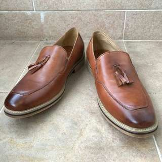 Genuine leather loafers Eur42