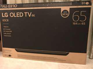 "LG OlED TV 65"" empty carton box"
