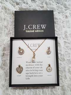 J.Crew Limited Edition Charm Necklace