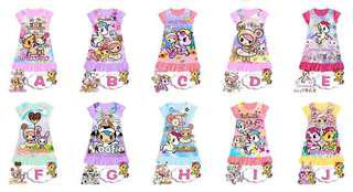 In stock -Tokidoki Pyjamas dress