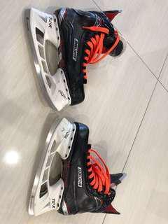 Bauer Viper X600 Ice Hockey Skates - Size 7.5
