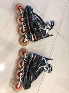 Mission Inhaler NLS3 Roller Hockey Skates - Size 7.5