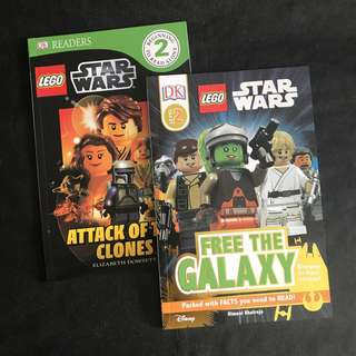 💥NEW- Lego Star Wars Duo Set -DK Readers Level 2 - Children story books