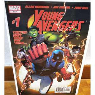 YOUNG AVENGERS (2005) #1 VF 1st print 1st KATE BISHOP Marvel Comics