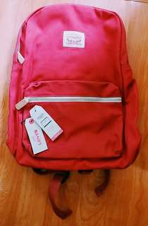 Levi's Red Computer Backpack 紅色電腦背包