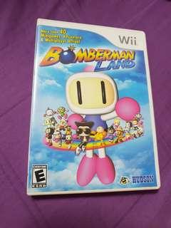 Wii game Bomberman Land