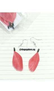 Feather earring (PO)