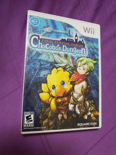 Wii game Final fantasy Fables. Chocobos Dungeon
