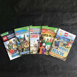 💥NEW- Lego Bundle of 5 books Set -DK Readers Level 2 - Children story books