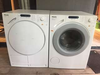 Miele Washing Machine & Dryer