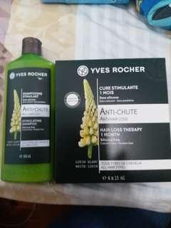 Yves rocher 防脫髮洗頭水300ml+育髮精華1個月(包順豐)