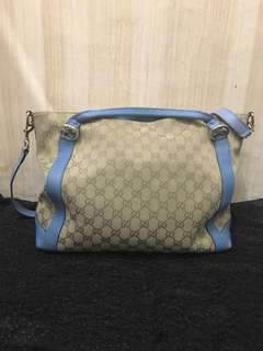 Gucci 袋 GG canvas two way tote