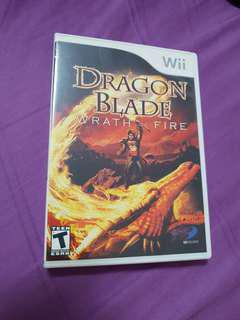Wii game  Dragon Blade Wrath of fire