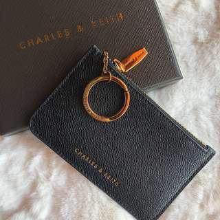 Charles & Keith Black Card Holder