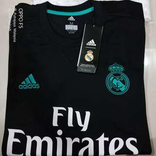 BNWT Real Madrid Away 2017/18 Jersey **MEDIUM**