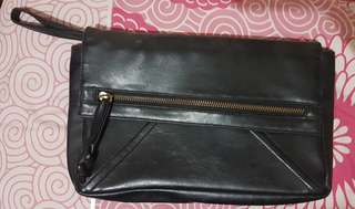 Cotton ink clutches black