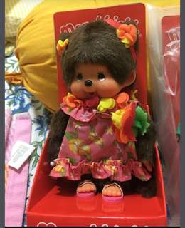 Monchhichi girl doll