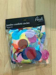 Colourful Confetti Circles