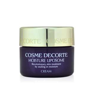Last one包郵❤Cosme Decorte Moisture Liposome Cream 保濕面霜12.5g