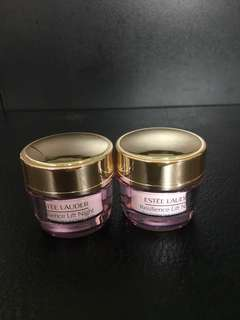 *Free by post* Estée Lauder Resilience Lift Night face and neck cream 15ml x 2pcs