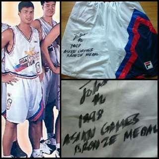 PBA Memorabilia - Jojo Lastimosa Basketball Shorts
