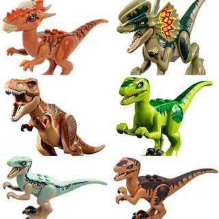 Lego Jurassic World Fallen Kingdom Dinosaurs