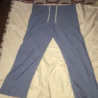 FASHION SEAL plus size scrub suit bottom large