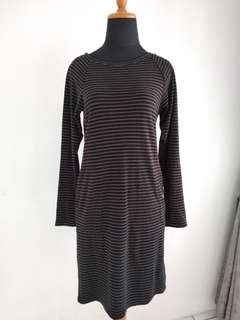 UNIQLO Stripes Shirt Dress