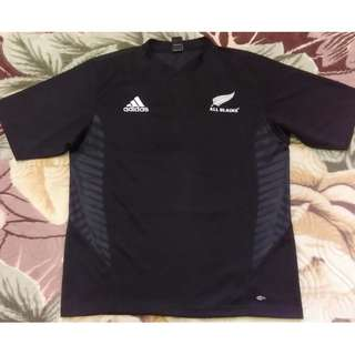 Adidas New Zealand All Blacks Rugby XL Jersey 1755gh 8e1103c61