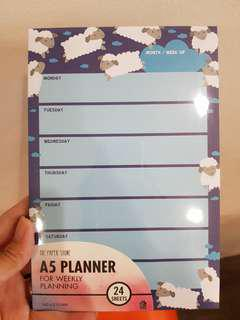 A5 Weekly Planner (The Paper Stone)