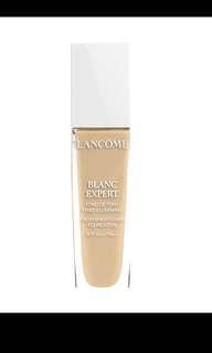 全新Lancome Blanche expert fresh brightening foundation #O-04 skin