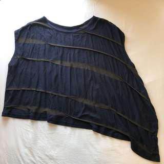 |日本直送| Y's yohji yamamoto 不對襯設計上衣