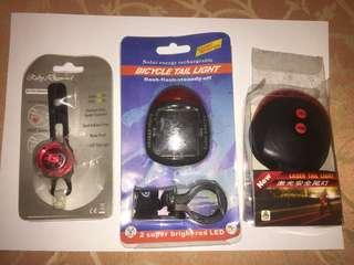 ** Lelong lelong **ruby light/solar power light/laser tail light/ CLEARANCES SALES