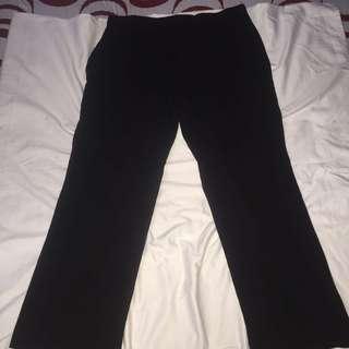 EAST 5TH black plus size slacks 16W