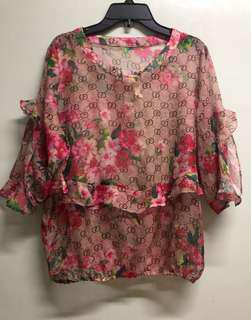 Gucci Floral Monogram print ( Inspired only)