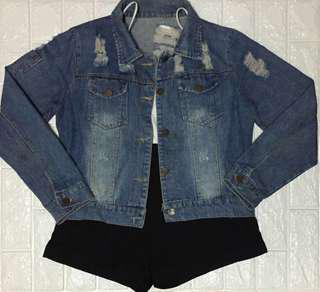 Semi Crop Denim Jacket