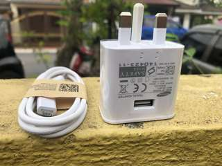 samsung fast charger and cable