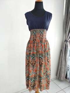 Ethnic Pattern Dress (Dress Etnik)