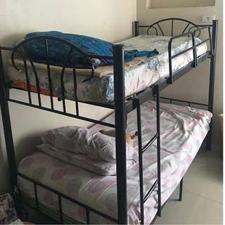 Double Deck Steel Bed Frame