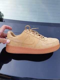 Nike Air Force Low Brown Suede