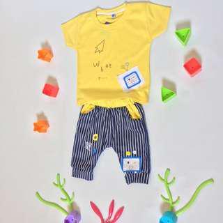 Kaos Anak - Yellow What ?